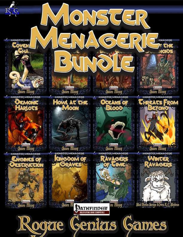 Monster menagerie bundle rogue genius games for Monster advanced search