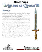 Relic Files: Treasures of Camelot III