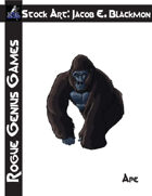 Stock Art: Blackmon Ape