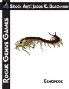 Stock Art: Blackmon Centipede