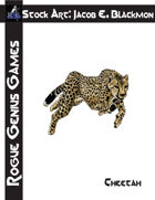Stock Art: Blackmon Cheetah