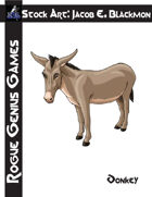 Stock Art: Blackmon Donkey
