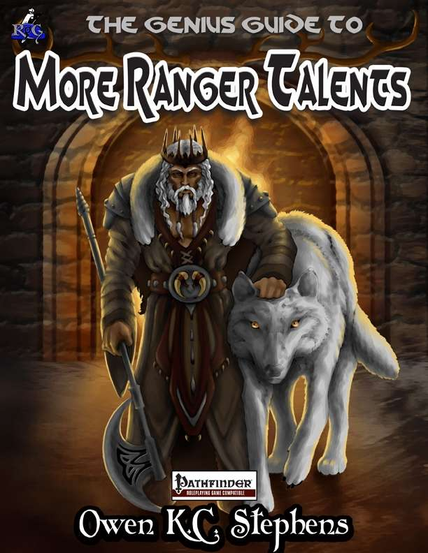 The Genius Guide to More Ranger Talents - Rogue Genius Games | Pathfinder  Class Options | DriveThruRPG com
