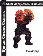 Stock Art: Blackmon Giant, Fire
