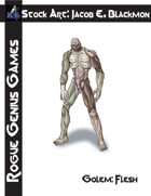 Stock Art: Blackmon Golem, Flesh