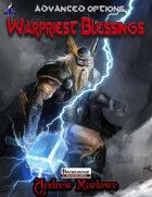 Advanced Options: Warpriest Blessings
