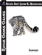 Stock Art: Blackmon Leopard