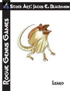 Stock Art: Blackmon Lizard