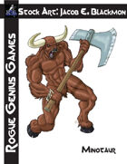 Stock Art: Blackmon Minotaur