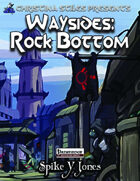 Christina Stiles Presents: Waysides - Rock Bottom