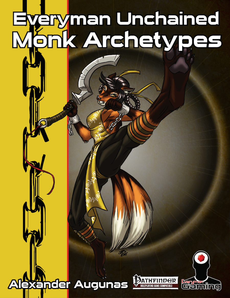 Everyman Unchained: Monk Archetypes - Rogue Genius Games ...