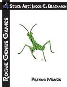 Stock Art: Blackmon Praying Mantis