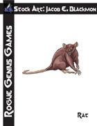 Stock Art: Blackmon Rat