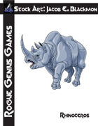Stock Art: Blackmon Rhinoceros
