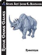 Stock Art: Blackmon Rhinoceros
