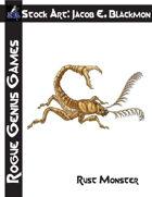 Stock Art: Blackmon Rust Monster
