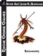 Stock Art: Blackmon Salamander