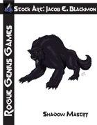 Stock Art: Blackmon Shadow Mastiff