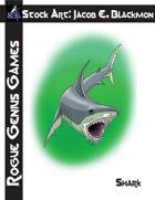 Stock Art: Blackmon Shark