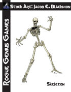 Stock Art: Blackmon Skeleton
