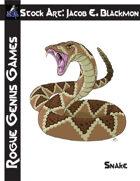 Stock Art: Blackmon Snake