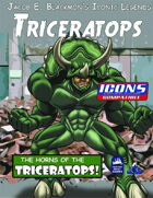Iconic Legends: Triceratops