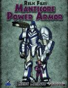 Relic Files: Manticore Power Armor
