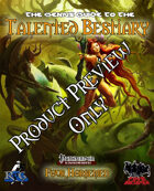 Talented Bestiary Preview!