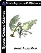 Stock Art: Blackmon Angel Astral Deva