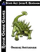 Stock Art: Blackmon Dinosaur, Ankylosaurus