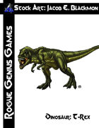 Stock Art: Blackmon Dinosaur, T-Rex