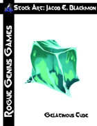 Stock Art: Blackmon Gelatinous Cube