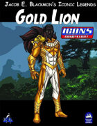 Iconic Legends: Gold Lion