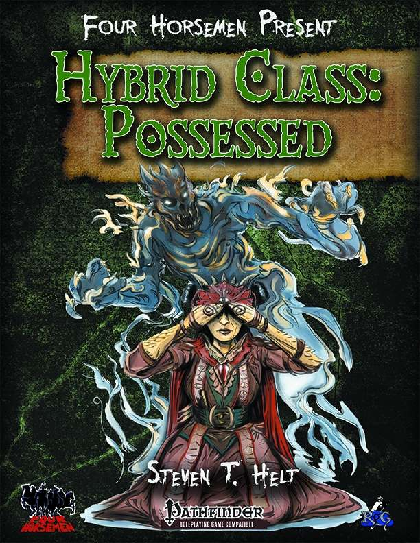 Cover art for Four Horsemen Present: Hybrid Class: Possessed