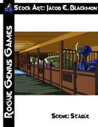 Stock Art: Blackmon Scene Stable