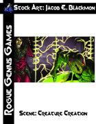 Stock Art: Blackmon Scene Creature Creation