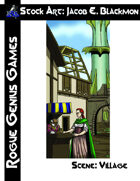Stock Art: Blackmon Scene Village