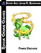Stock Art: Blackmon Ponies Firemare