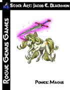 Stock Art: Blackmon Ponies Magus