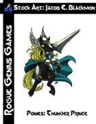 Stock Art: Blackmon Ponies Thunder Prince