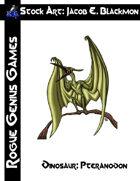 Stock Art: Blackmon Dinosaur Pteranodon