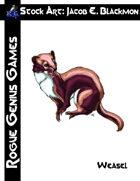 Stock Art: Blackmon Weasel