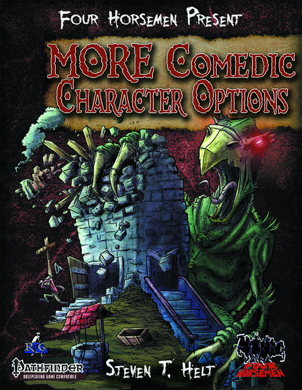 cover for FHP: More Comedic Character Options