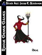 Stock Art: Blackmon Devil
