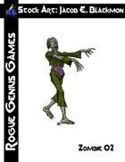 Stock Art: Blackmon Zombie 02
