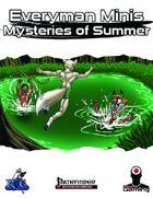 Everyman Minis: Mysteries of Summer