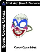 Stock Art: Blackmon Creepy Clown Mask