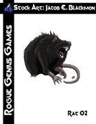 Stock Art: Blackmon Rat 02