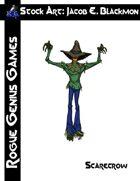 Stock Art: Blackmon Scarecrow