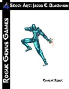 Stock Art: Blackmon Combat Robot